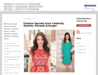 fashionbreaking.com screenshot
