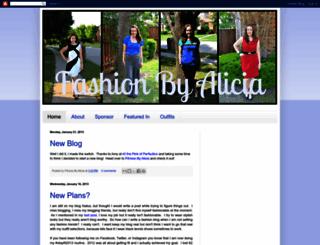 fashionbyalicia.blogspot.com screenshot
