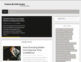fashionbyfaithseeker.com screenshot