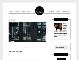 fashionbymayhem.com screenshot