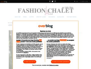 fashionchalet.net screenshot
