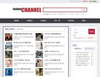 fashionchannel.co.kr screenshot