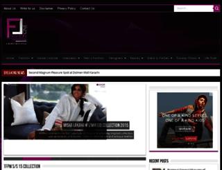 fashioncine.com screenshot
