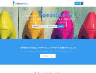 fashionclub.hu screenshot