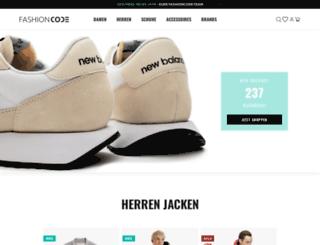 fashioncode.de screenshot