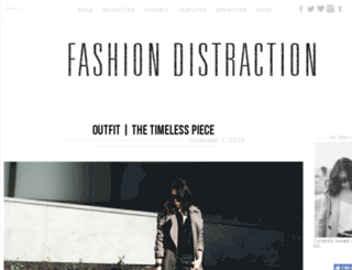 fashiondistraction.blogspot.com screenshot