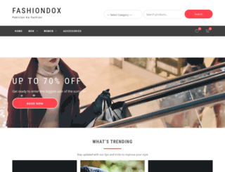 fashiondox.com screenshot