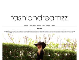 fashiondreamzz.forme.se screenshot