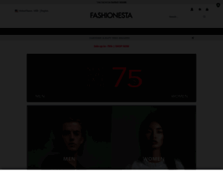 fashionesta.com screenshot