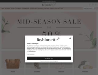 fashionette.nl screenshot