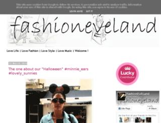 fashioneveland.blogspot.it screenshot