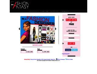 fashionfantasygame.com screenshot