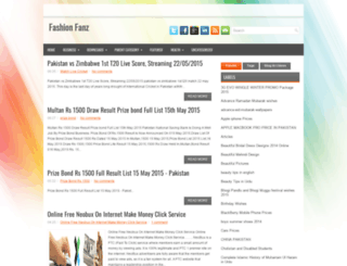 fashionfanz.blogspot.com screenshot
