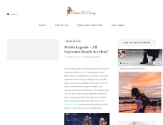 fashionfordonny.com screenshot