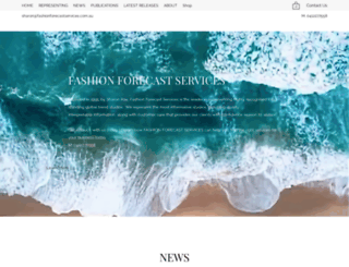 fashionforecastservices.com.au screenshot