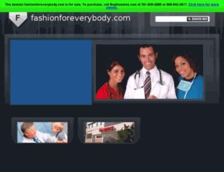 fashionforeverybody.com screenshot