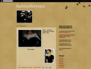 fashionforyou2.blogspot.com screenshot