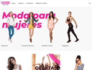 fashiongirlclub.com screenshot