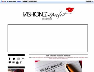 fashionimperfect.blogspot.com screenshot