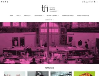 fashionincubator.com screenshot