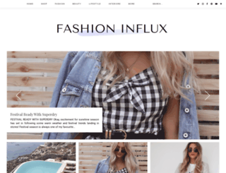fashioninflux.co.uk screenshot