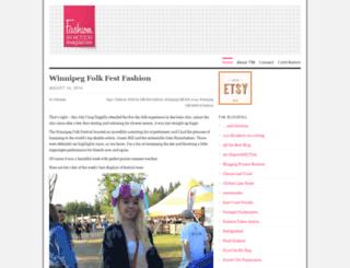 fashioninmotion.wordpress.com screenshot