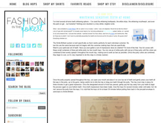 fashionintheforest.com screenshot