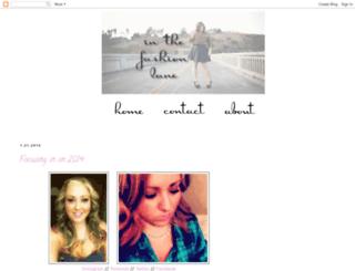 fashionistammc.blogspot.com screenshot