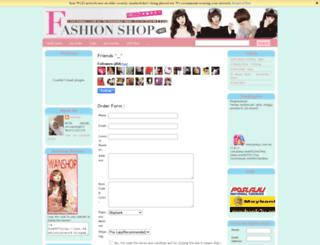 fashionistaon9.blogspot.com screenshot