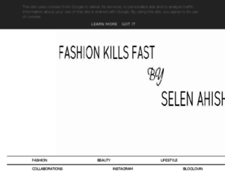 fashionkillsfast.blogspot.fi screenshot