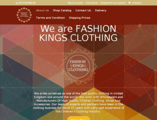 fashionkingsclothing.com screenshot