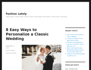 fashionlately.net screenshot