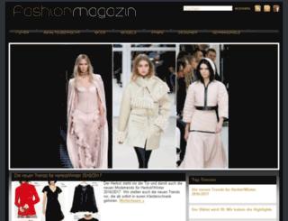 fashionmagazin.de screenshot