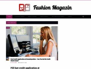 fashionmagazin.org screenshot
