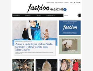 fashionmagazine.it screenshot