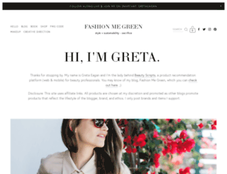 fashionmegreen.com screenshot