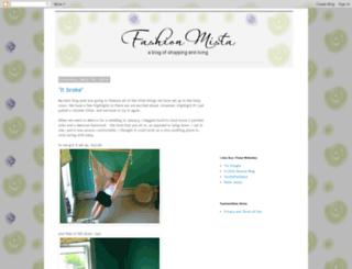 fashionmista.blogspot.com screenshot