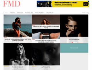 fashionmodeldirectory.com screenshot