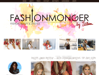 fashionmonger.net screenshot