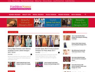 fashionnama.com screenshot