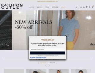 fashionoutlet.it screenshot