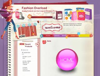 fashionoverloads.blogspot.com screenshot