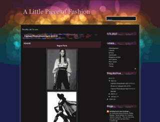 fashionpiece.blogspot.com screenshot