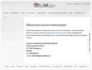 fashionqueen.iai-shop.com screenshot