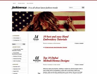 fashionraza.wordpress.com screenshot