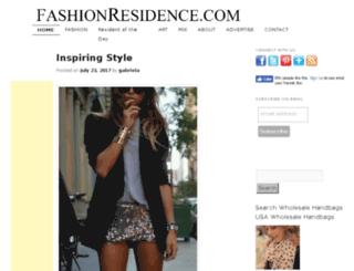 fashionresidence.com screenshot