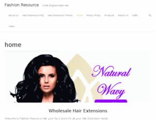 fashionresourcehair.com screenshot