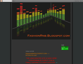 fashionrnb.blogspot.com screenshot