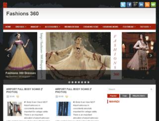 fashions-360.blogspot.com screenshot