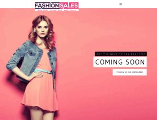 fashionsales.org screenshot